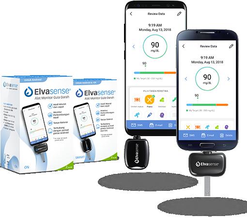Elvasense smartphone apps
